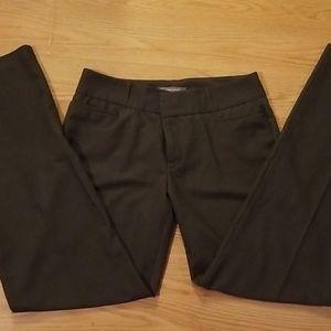Daisy Fuentes dark grey pants